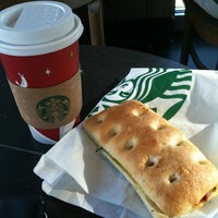 Photo taken at Starbucks by Jessica W. on 11/17/2012