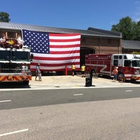 Photo taken at Morrisville Fire Station 1 by Robert K. on 7/19/2014