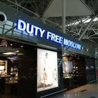 Photo taken at Duty Free Moscow by Eduardo G. on 5/28/2013