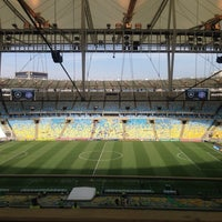 Photo taken at Mário Filho (Maracanã) Stadium by Eduardo G. on 9/22/2013