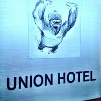 Photo taken at Union Hotel, An Ascend Hotel Collection Member by Ryan W. on 6/18/2013