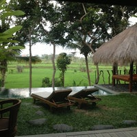 Photo taken at Ubud Padi Villa by Mar on 8/27/2013