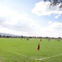 Photo taken at Campos de futbol Los Rositas by Mauricio J. on 8/4/2014