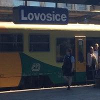 Photo taken at Železniční stanice Lovosice by Štěpán S. on 6/11/2017