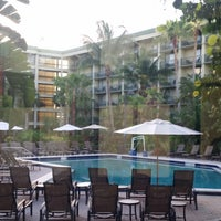 Photo taken at DoubleTree by Hilton Hotel and Executive Meeting Center Palm Beach Gardens by Kelly on 7/11/2017