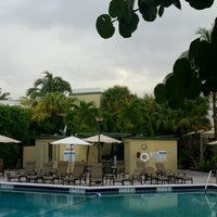 Photo taken at DoubleTree by Hilton Hotel and Executive Meeting Center Palm Beach Gardens by Kelly on 2/28/2017