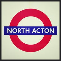 Photo taken at North Acton London Underground Station by Demsi on 9/27/2013
