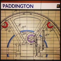 Photo taken at Paddington London Underground Station (District, Circle and Bakerloo lines) by Demsi on 9/17/2013