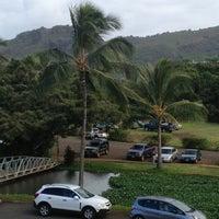 Photo taken at Kalapaki Beach Hut Burgers by Brenda M. on 7/12/2013