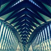 Photo taken at Station Aéroport Lyon Saint-Exupéry [Rhônexpress] by Volkan I. on 11/30/2016