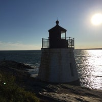 Photo taken at Castle Hill Lighthouse by Jinan A. on 9/29/2017