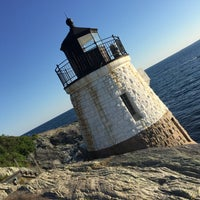 Photo taken at Castle Hill Lighthouse by Jinan A. on 7/5/2017