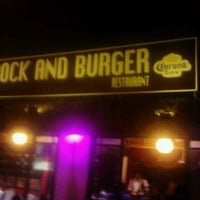 Photo taken at Rock and Burger by Andres B. on 1/12/2013