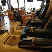 Photo taken at Sun Palm Nail Salon by Yesenia G. on 12/27/2012