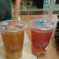 Photo taken at Tea One - Bubble Tea by Luci B. on 11/17/2012