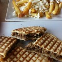 Photo taken at Greek City Cafe by Gordon W. on 7/23/2014