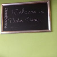 Photo taken at Pasta Time by Emily Y. on 12/7/2012