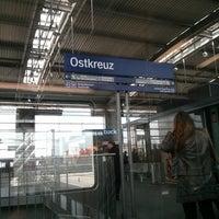 Photo taken at Bahnhof Berlin Ostkreuz by Maria O. on 4/14/2013