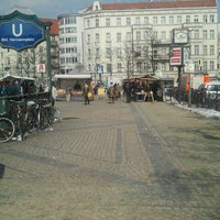 Photo taken at Hermannplatz by Maria O. on 3/14/2013