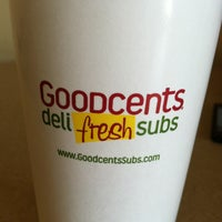 Photo taken at Goodcents Deli Fresh Subs by DeWayne T. on 7/7/2013