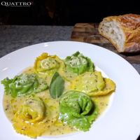 Photo taken at Quattro Gastronomia Italiana by Quattro Gastronomia Italiana on 6/8/2015