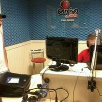 Photo taken at Rádio Sorriso FM by Gui S. on 12/27/2013
