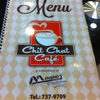 Photo taken at Chit Chat Cafe by Michy R. on 2/22/2014