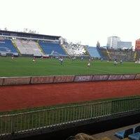 Photo taken at Omladinski stadion   OFK Beograd by Nikola R. on 3/30/2013