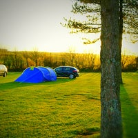 Photo taken at Lynton Camping and Caravanning Club Site by Zakaria H. on 4/16/2017