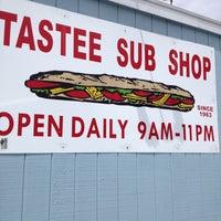 """Photo taken at Tastee Sub Shop by Darren""""DJ Absurd"""" S. on 7/26/2013"""