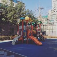 Photo taken at 장안어린이공원 by Young Jun K. 🍂 on 1/12/2016