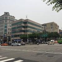 Photo taken at 학동역사거리 by Young Jun K. 🍁 on 6/20/2016