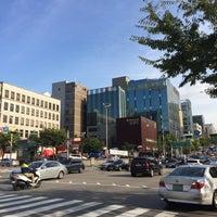 Photo taken at 학동역사거리 by Young Jun K. 🍁 on 9/18/2015