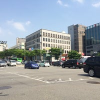 Photo taken at 학동역사거리 by Young Jun K. 🍁 on 5/13/2015