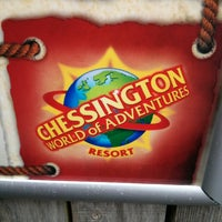 Photo taken at Chessington World of Adventures Resort by Rich B. on 6/28/2013