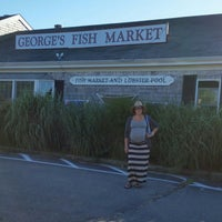 Photo taken at George's Place Fish Market by @claudiaberbeo on 8/30/2014
