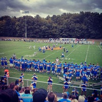 Photo taken at WNE Golden Bear Stadium by Andre O. on 9/13/2014