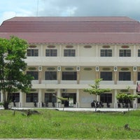 Photo taken at Rektorat STAHN-TP Palangka Raya by Ronnie A. on 3/14/2014