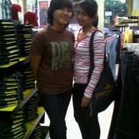 Photo taken at Lois Jeans Outlet by detia G. on 11/14/2012