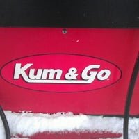 Photo taken at Kum & Go by Geno on 12/24/2012