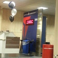Photo taken at Gate 54A by Lisa R. on 2/14/2013