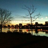 Photo taken at Lake Merritt by Rae T. on 3/7/2013