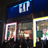 Photo taken at Gap by Oh D. on 12/1/2012