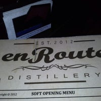 Photo taken at en Route Distillery by Sherill V. on 1/11/2013