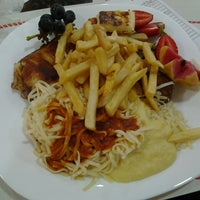 Photo taken at Sertanense Restaurante e Lanchonete by carlliinhooss on 3/18/2013