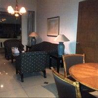 Photo taken at Hotel Bumi Wiyata by Andari H. on 9/30/2012