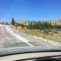 Photo taken at Konya - Manavgat Yolu by Gökçer G. on 8/9/2013