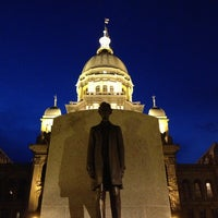 Photo taken at Lincoln Statue by Matthew M. on 1/11/2013