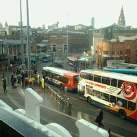 Photo taken at Queen Square Bus Station by Lauren H. on 11/29/2012