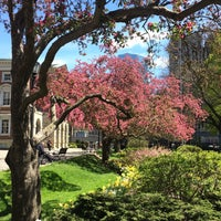 Photo taken at Osgoode Hall Park by Yutong W. on 5/9/2017